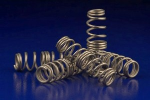 passivated metal springs