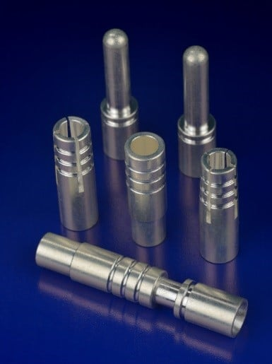 Figure 4: Silver Plated Machined C360 Brass Connectors